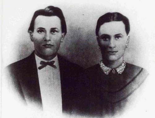Mary Catherine Webb and Joseph Milton Carnes